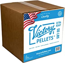 Victory Pellets Extra Heavy (50 LBS) Plastic Poly Pellets for Weighted Blankets, Vests, Cornhole Bags, Bean Bag Toss Bags, Reborn Dolls, Plush Toys, Draft Stoppers & Sensory Lap Pads. Made in USA.