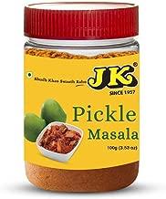 JK PICKLE MASALA 3.53 Oz, 100g (Achar Masala, Acar Masala, Indian Pickle Spice Mix) 100% Natural, NON-GMO & GLUTEN FREE