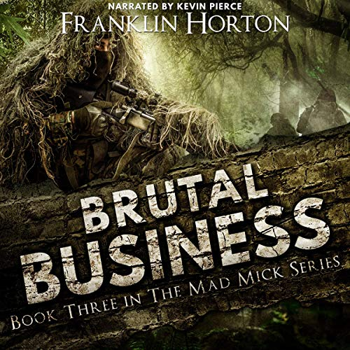 Brutal Business audiobook cover art