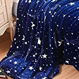 Fineday Super Soft Warm Solid Warm Micro Plush Fleece Blanket Throw Rug Sofa Bedding, Home Products, for Halloween Day (M