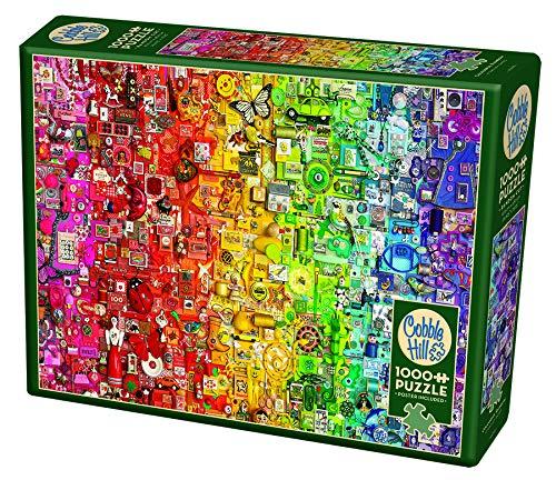 Cobble Hill Puzzle 1000 pièces : Arc-en-ciel coloré