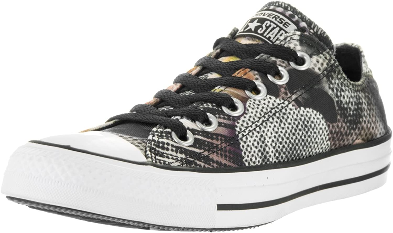 Converse Womens Digital Floral Print Ox Textile Trainers