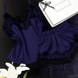 ملابس داخلية لانجري جذابة بيجامات مخرم للنساء الصيف