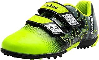 rismart TieBao Bambini Ragazzi Scarpe da Calcio Artificiale Turf Sneakers da Allenamento per I Giovani