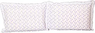 """Kuber Industries 2 Piece Cotton Pillow Cover Set - 18""""x27"""", White"""