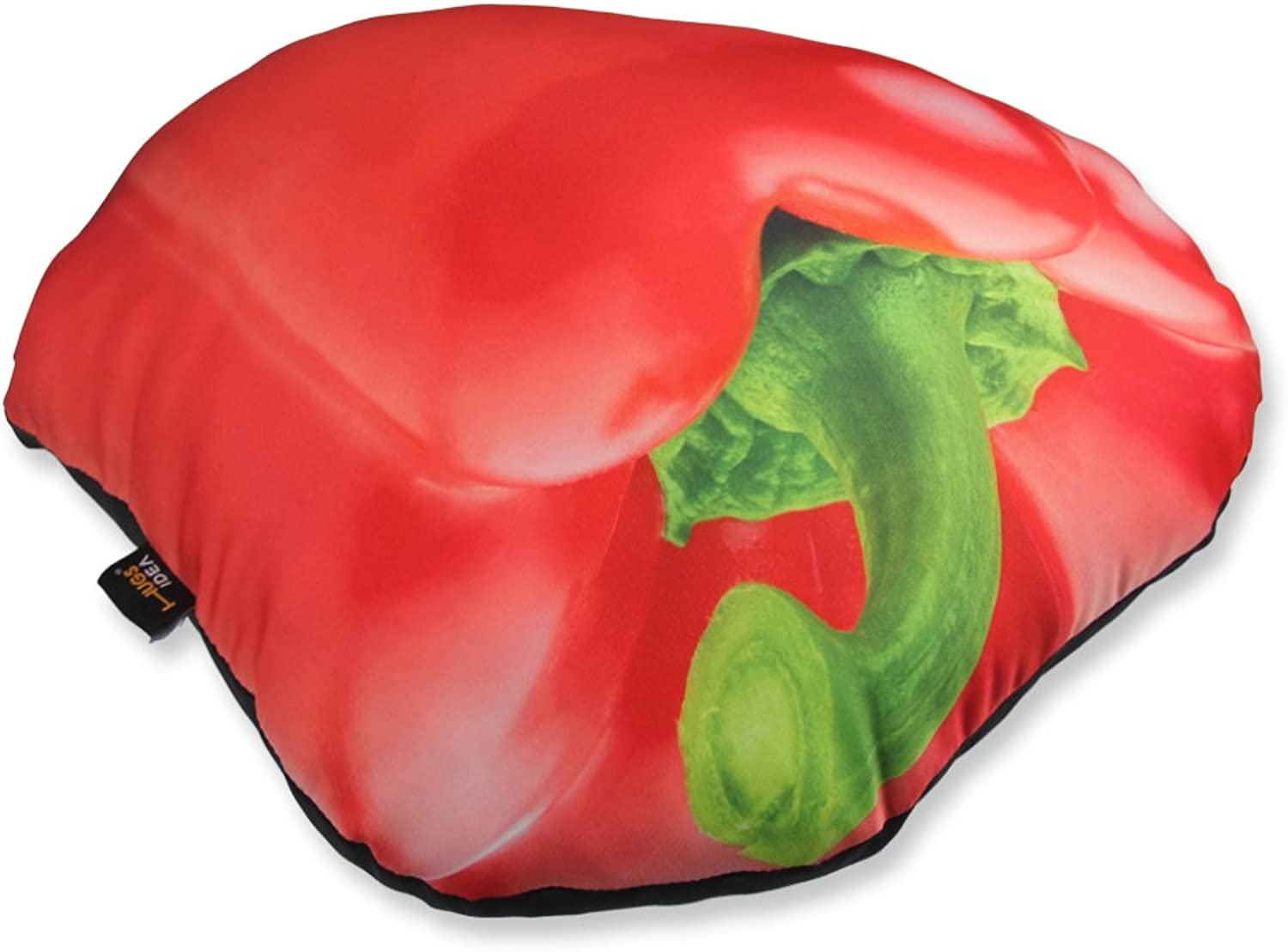 FOR U DESIGNS Round Red Pepper Shape Creative Throw Pillow Travel Outdoor Home Car Decoration Cushion