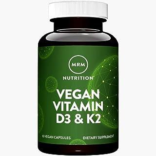 MRM Vegan Vitamin D3 K2-60 Vegan Capsules