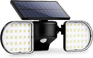 comprar comparacion OUSFOT Luz Solar Exterior 56 LED Foco Solar con Sensor de Movimiento Lámpara Solar de Seguridad Impermeable IP65 360 ° Aju...