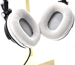 Replacement Velour Ear Pads for Audio Technica ATH-M50 M50S M50X M20 M30 M35 M40 M40S M40X Headsets Headphones 100X80MM (G...