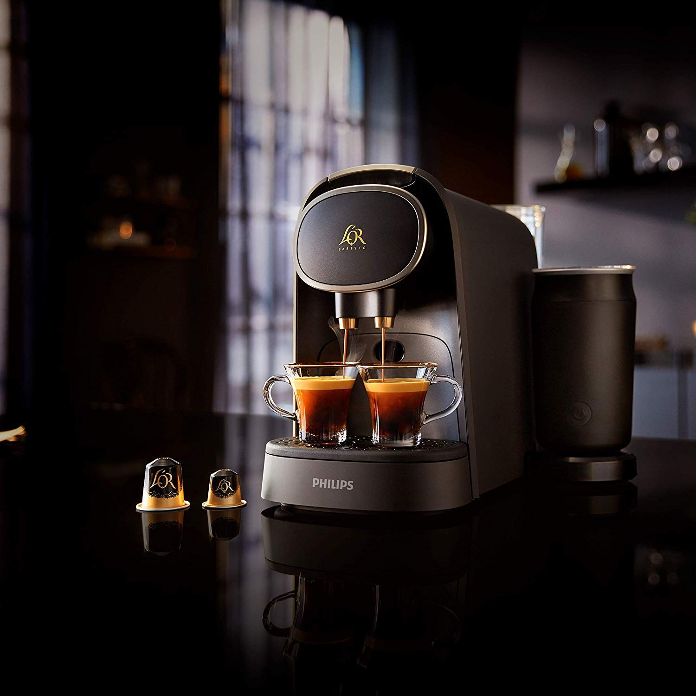 Philips LOR Barista LM8018/90 + LOr Café Espresso Colombia 5 paquetes de 10 cápsulas: Amazon.es: Hogar