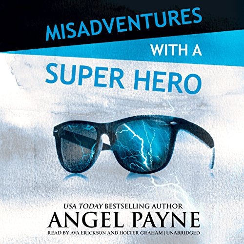 Misadventures with a Super Hero audiobook cover art