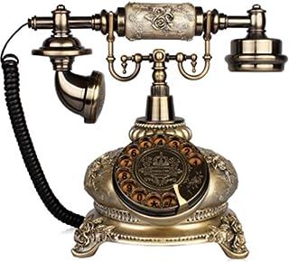 Antique Telephone Continental Retro Home Office Landline Rotating Dial Living Room Bedroom Landline Retro Landline