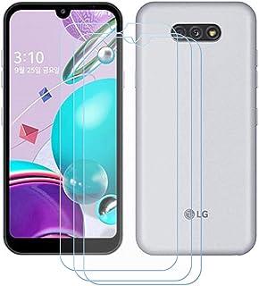 TTJ 3 stycken skottsäkert glas skyddsfolie för LG K31, 9H hårdhet härdat glas pansarglasfilm anti-rep/anti-fingeravtryck/a...