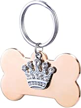 Best crown dog tag Reviews