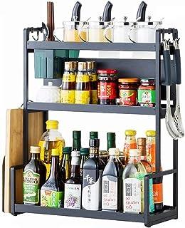 HYCy Supports de Cuisine, Supports à épices en Acier Inoxydable, Supports à Couverts pour bocaux, Baguettes et cuillères, ...