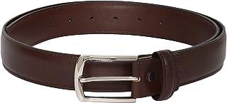 Otuoro Men's Handmade textured Italian leather belt in Gift Box