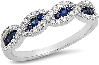 Best diamond swirl fashion ring Reviews