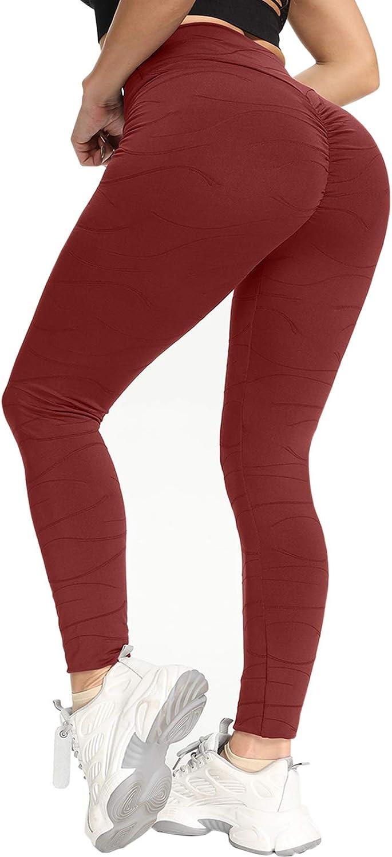 SENBAN Yoga Pants for 5 Sale special price ☆ very popular Women High Waist Lifting Ruched Butt Leggi