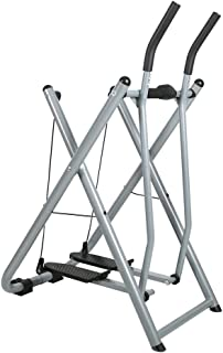 Livebest Folding Fitness Step Machine Air Walk Trainer Exercise Stepper Glider with LCD Display for Home,Office and Gym