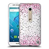 Head Case Designs Rose Confettis Coque en Gel Doux Compatible avec Motorola Moto X...