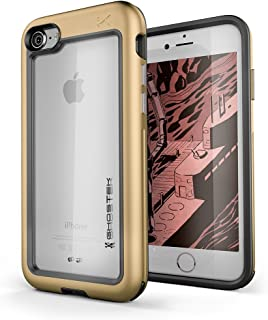 Ghostek Atomic Slim Military Grade Case Compatible with iPhone 8 & iPhone 7 - Gold
