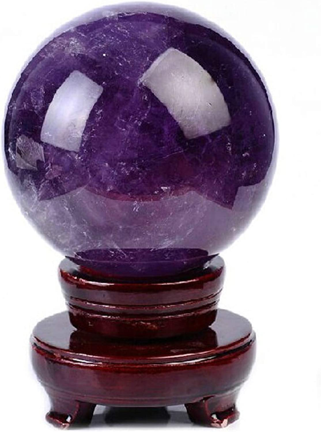 Ranking TOP7 XDYFF Crystal Ball Divination Genuine Amethyst Shui Rare Prot Feng