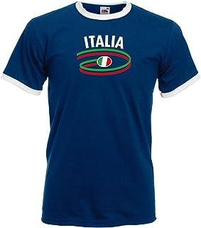 Italia / Italien Herren T-Shirt Dynamic Retro Trikot|