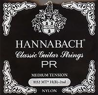 HANNABACH シルバースペシャル E8152MT Black H 2弦
