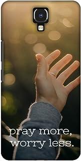 AMZER Slim Designer Snap On Hard Shell Case Back Cover for Infinix Note 4 - Quran 3