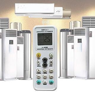 Control remoto universal de aire acondicionado, Universal Control Remoto del Aire Acondicionado, Universal LCD A/C Control...