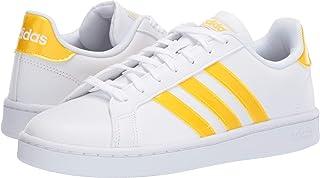 adidas Originals Grand Court White/Bold Gold/White 7.5 B (M)