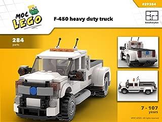 F-450 heavy duty truck (Instruction Only): MOC LEGO