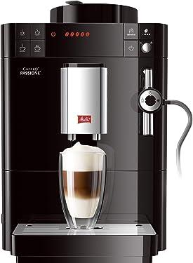 Melitta Caffeo Passione F530-102, Kaffeevollautomat mit Auto-Cappuccinatore-System, Schwarz
