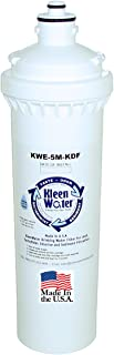 Everpure H-300+M H-300 H-200 EV9270-72 Compatible Fit Filter, KleenWater KWE-5M-KDF-H-300+M Replacement Water Filter Cartridge, New Dual 5 Micron and 1 Micron Filtration