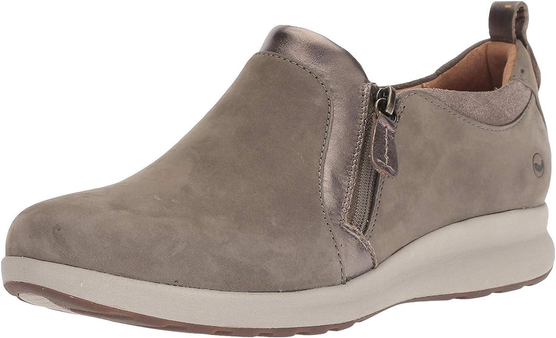 Clarks Women's Un Adorn Zip Loafer Flat
