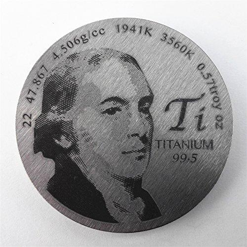 Homenaje a titanio Discoverer diámetro de 1,5 pulgadas Pure
