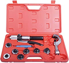 Lever Hydraulic Tube Expander Tool Swaging Kit HVAC 3/8, 1/2, 5/8, 3/4,7/8,1,1-1/8 Inch O.D.Tubing