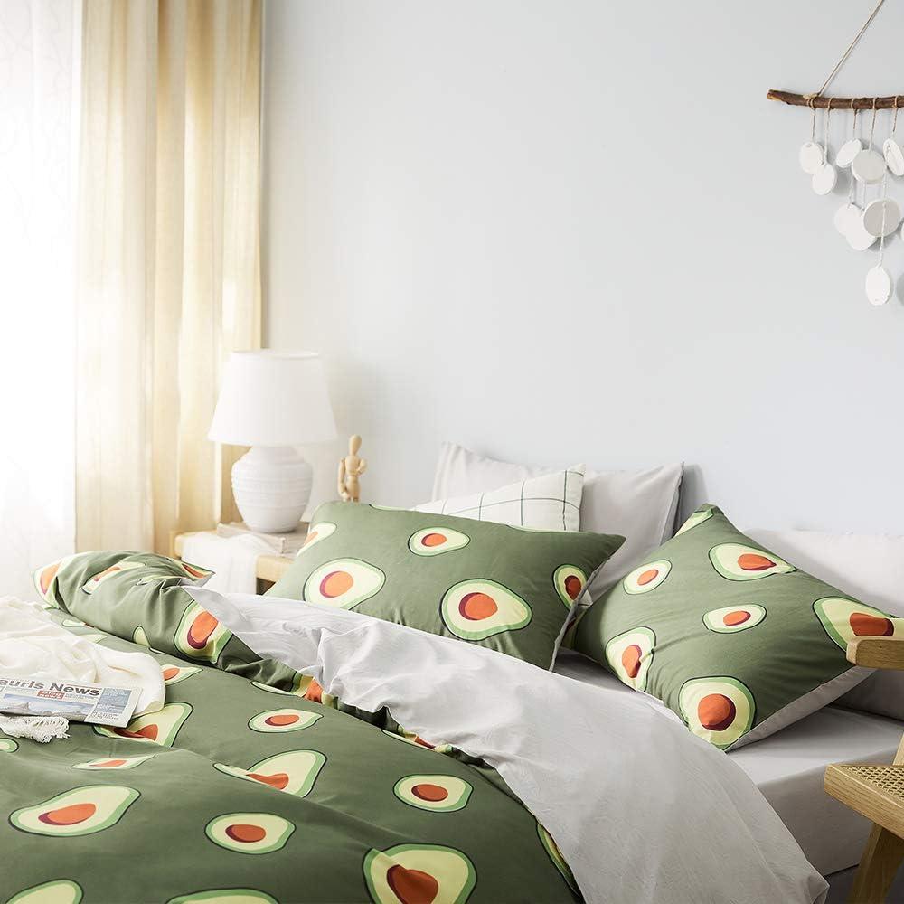 Teens Grey Bedding Sets Queen Girls Microfiber Duvet Covers Queen Kids Leopard Print Comforter Cover Queen for Women Textured Cartoon Cute Bedding Sets Full with Hidden Zipper No Comforter