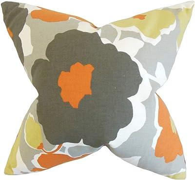 The Pillow Collection P18-D-36241-BUBBLEGUM-C39-P33-R28 Bubblegum Razili Geometric Pillow