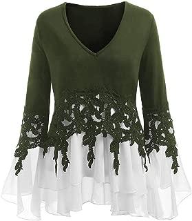 Womens Plus Size Shirt Top Blouse Fall Long Sleeve Mini Dress Holiday Jumper Tunic