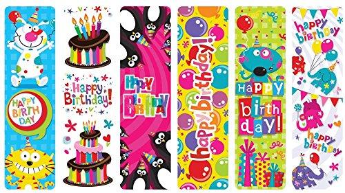 Raymond Geddes Happy Birthday Bookmarks (Pack of 100)