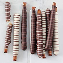 Mrs Prindables Chocolate and Caramel Dipped Pretzels - 10 Piece