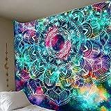 MIANJUNAN wandteppiche,Bunte Pilz Wandteppiche Indischen Boho Psychedelic Hippie Wand Hängen Wandteppiche Groß Handtuch Für Den Strand Yoga Matte Decke Werfen