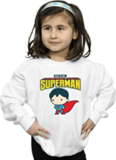 DC Comics Girls Superman My Dad Is My Hero Sweatshirt