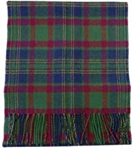 USA Kilts Irish County Cork Wool Tartan Plaid Scarf Made in Scotland