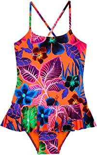 13766d1d9bb84 Vilebrequin - Girls One Piece Swimsuit with Frill 16.7 Porto Rico