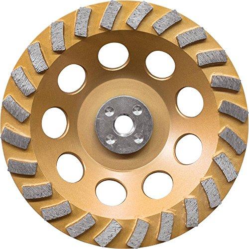 Makita A-96425 24 Segment Turbo Anti-Vibration Diamond Cup Wheel, 7'