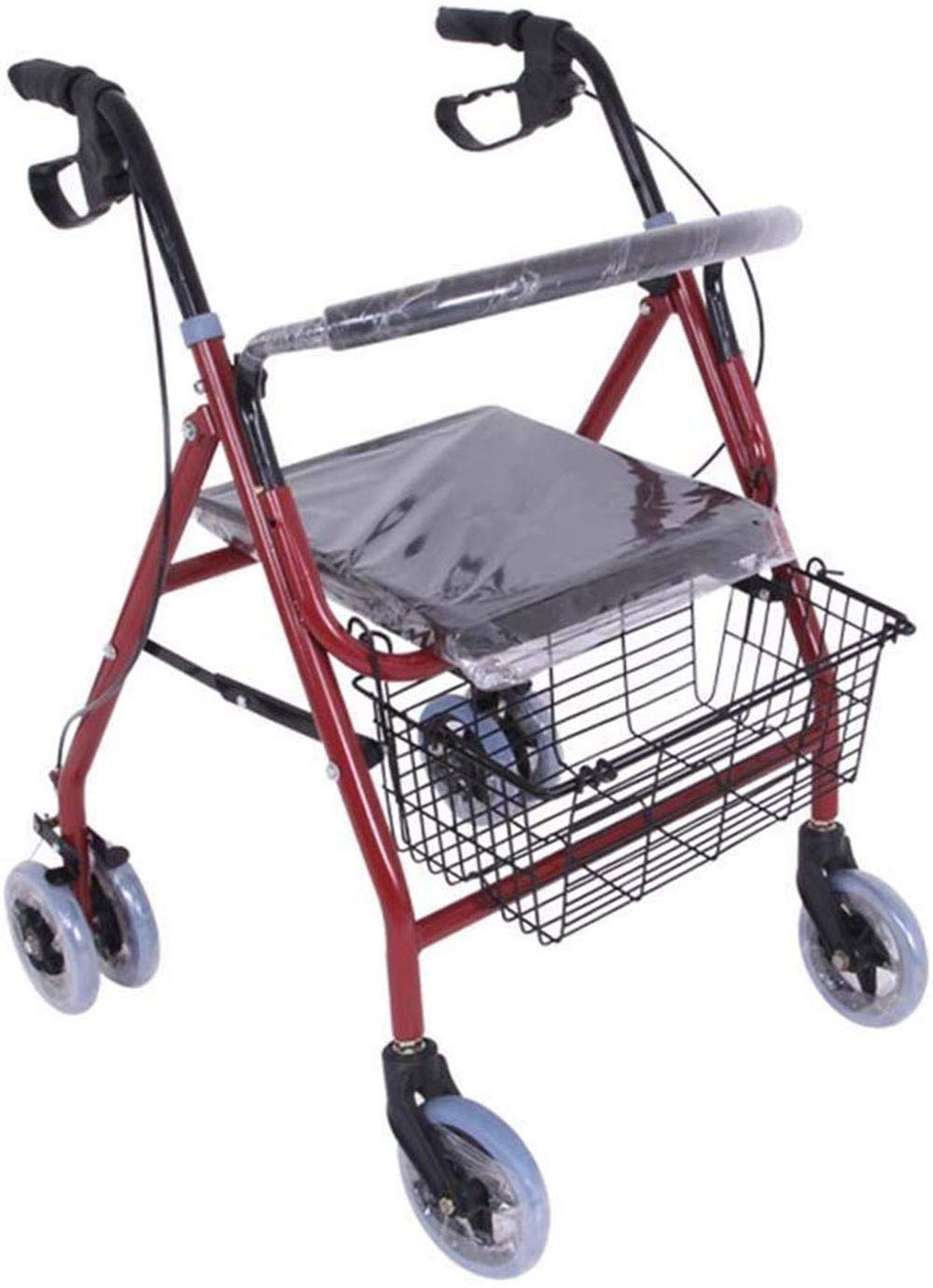 CXRen Four Wheel Rollator Cushioned Lockable