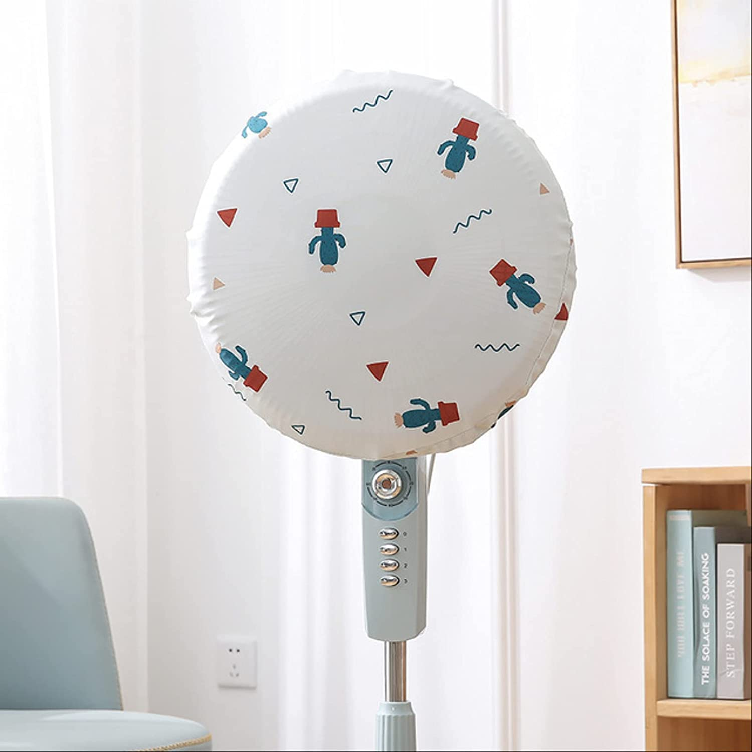 KiKiYe 2pcs Fan Directly Max 68% OFF managed store Dust Cover Household All-Inclusive Fab