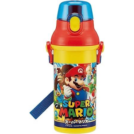 スケーター 直飲み 水筒 プラワンタッチ ボトル 480ml スーパーマリオ 17 日本製 PSB5SAN